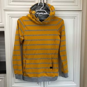 Gorgeous striped woman's hoodie
